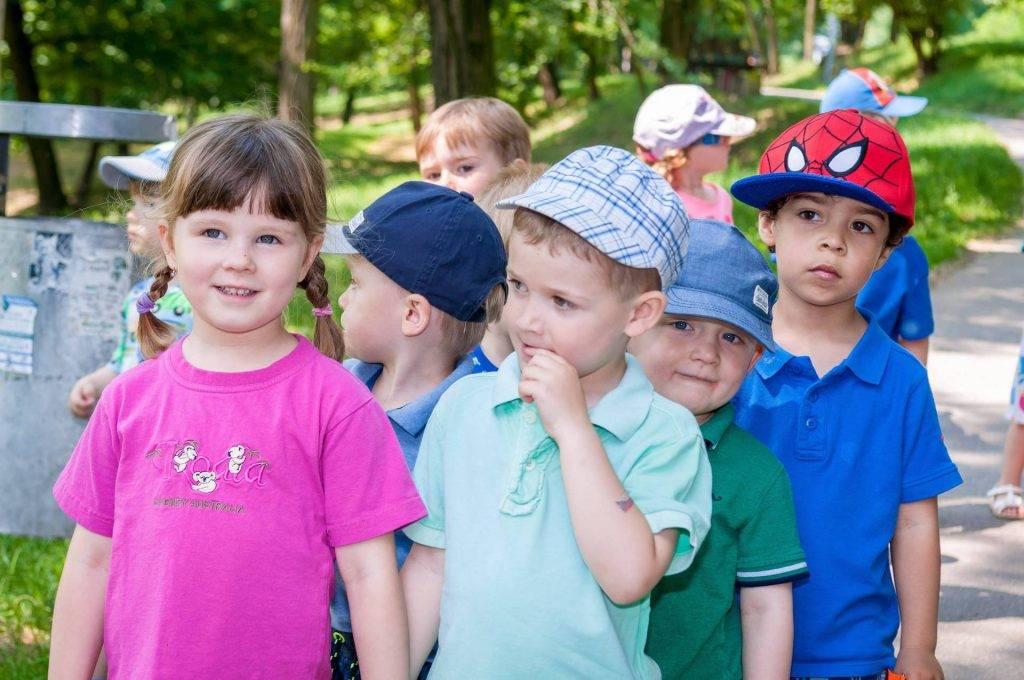 Děti z Mateřské školy Paleček na výletě